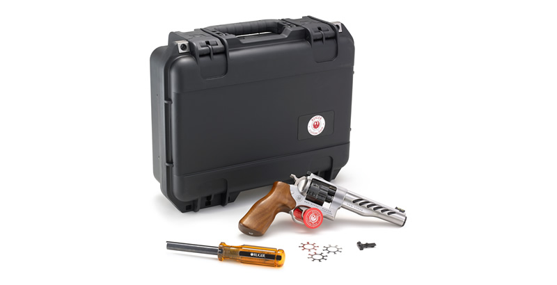 Ruger Custom Shop Super GP100 Competition Revolver with Case