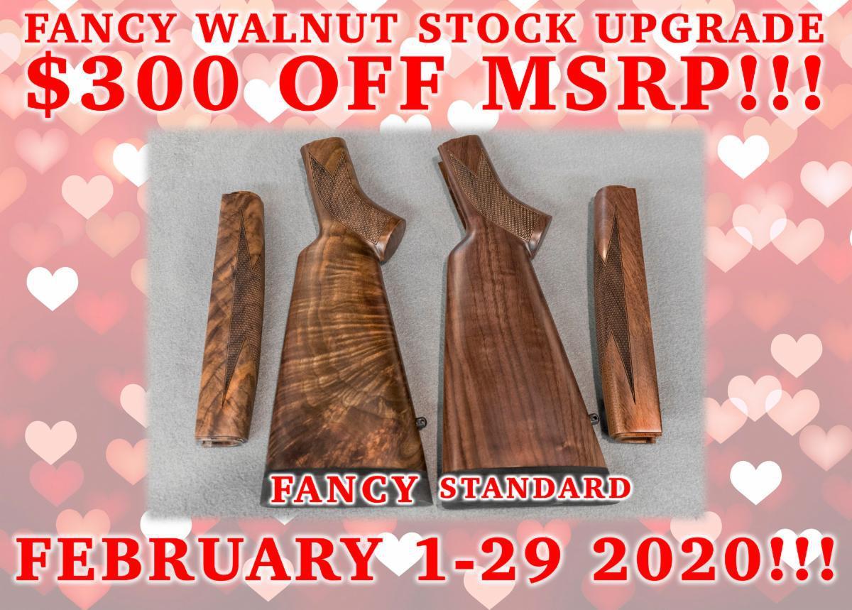 Fancy Walnut Stock
