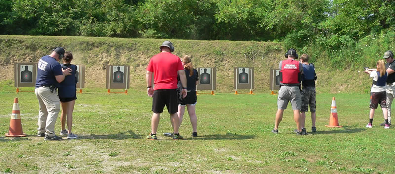Firearm Training at Fox Prairie Gun Range - Noblesville Indiana