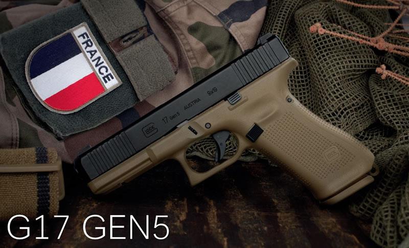 Glock G17 Gen5 - French Army