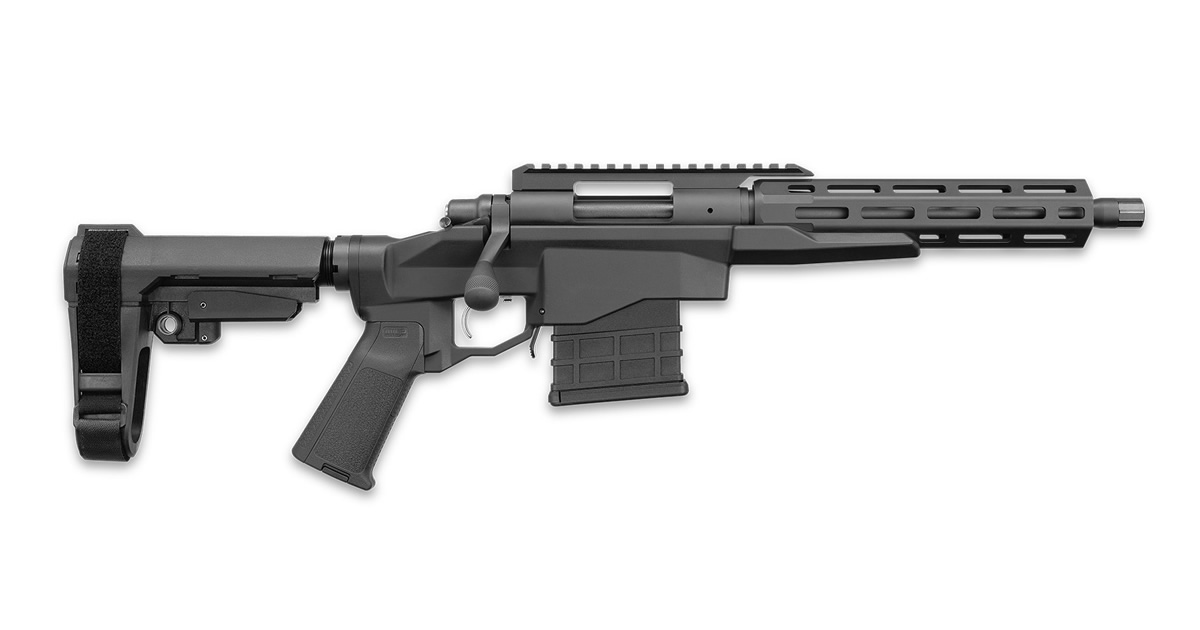 Remington 700-CP with Arm Brace & M-LOK Handguard