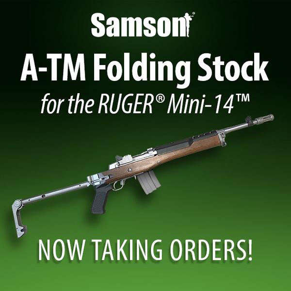 Samson A-TM Folding Stock for Ruger Mini-14