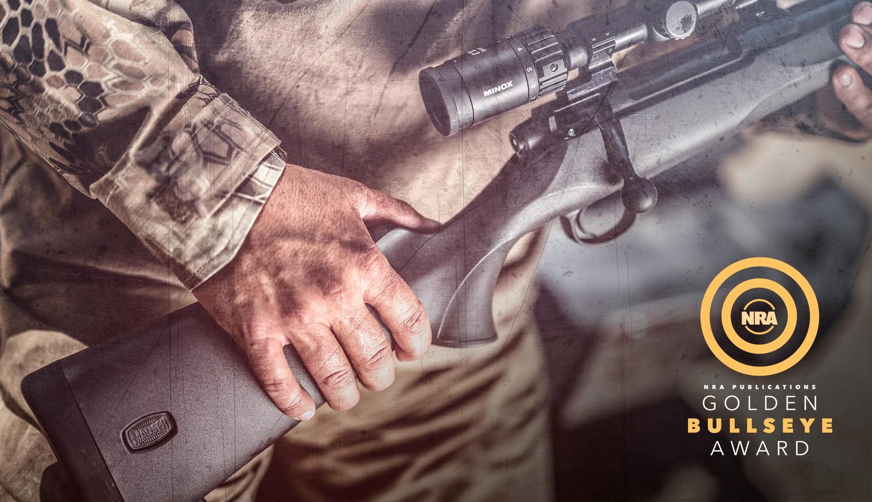 Mauser 18 - NRA 2020 Golden Bullseye Award