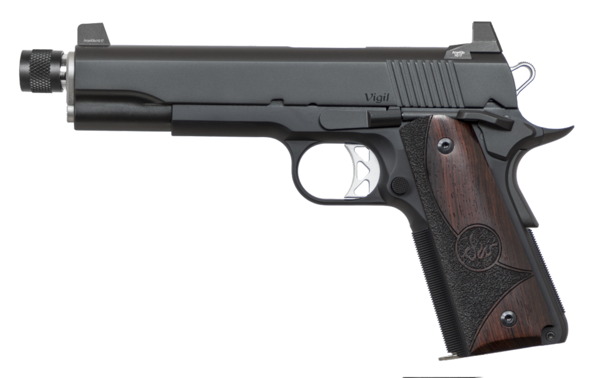 DW Vigil 45 ACP Suppressor