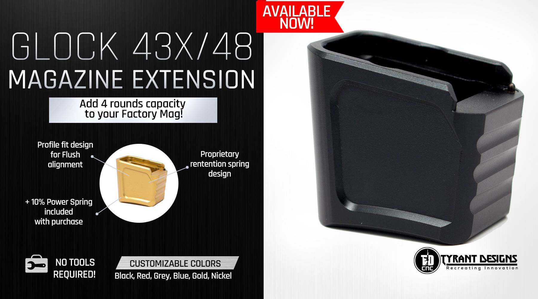 Glock Magazine Extension