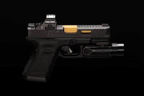 Open reflex pistol sights