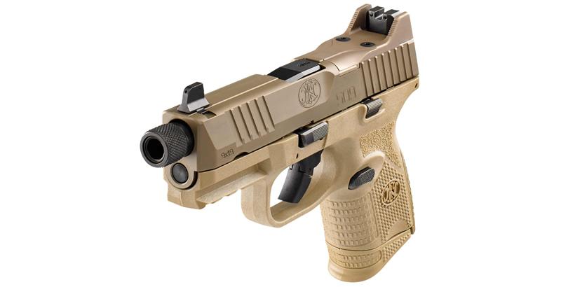 FN 509 Compact Tactical Pistol_FN509C_FDE