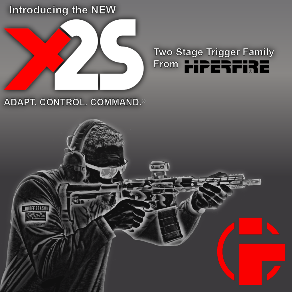 HIPERFIRE X2S Two-stage AR Triggers