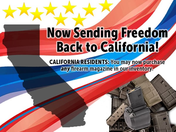 Brownells Shipping Magazines to California