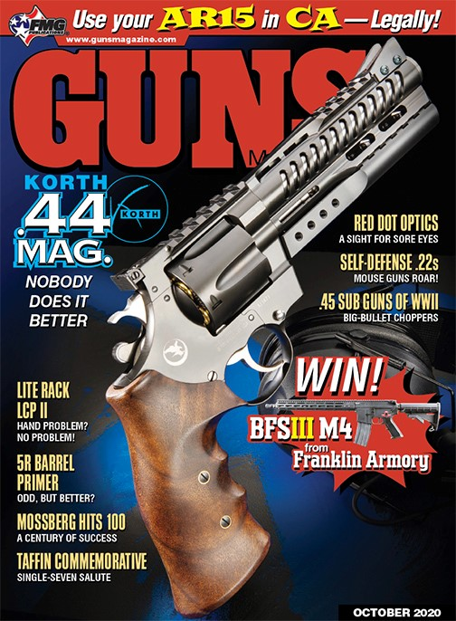 Korth NXR 44 Magnum in GUNS Magazine
