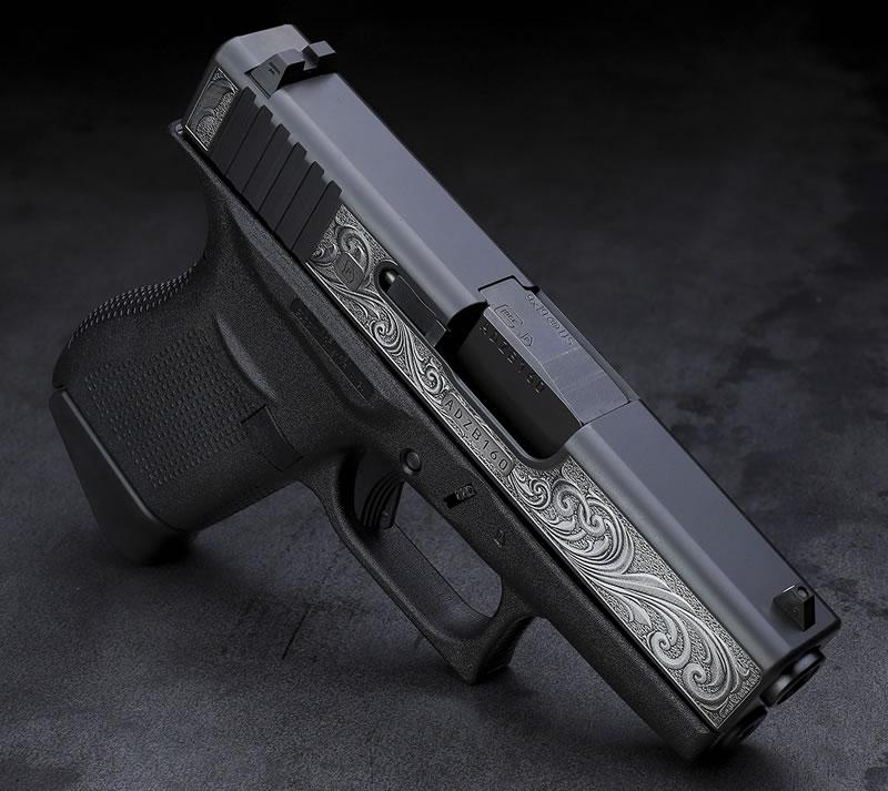 Davidsons Engraved Glock 43