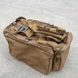 Lynx Defense Concord Pistol Range Bag - Tan