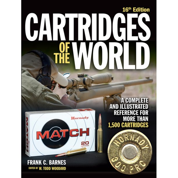 Cartridges of the World 16th Edition