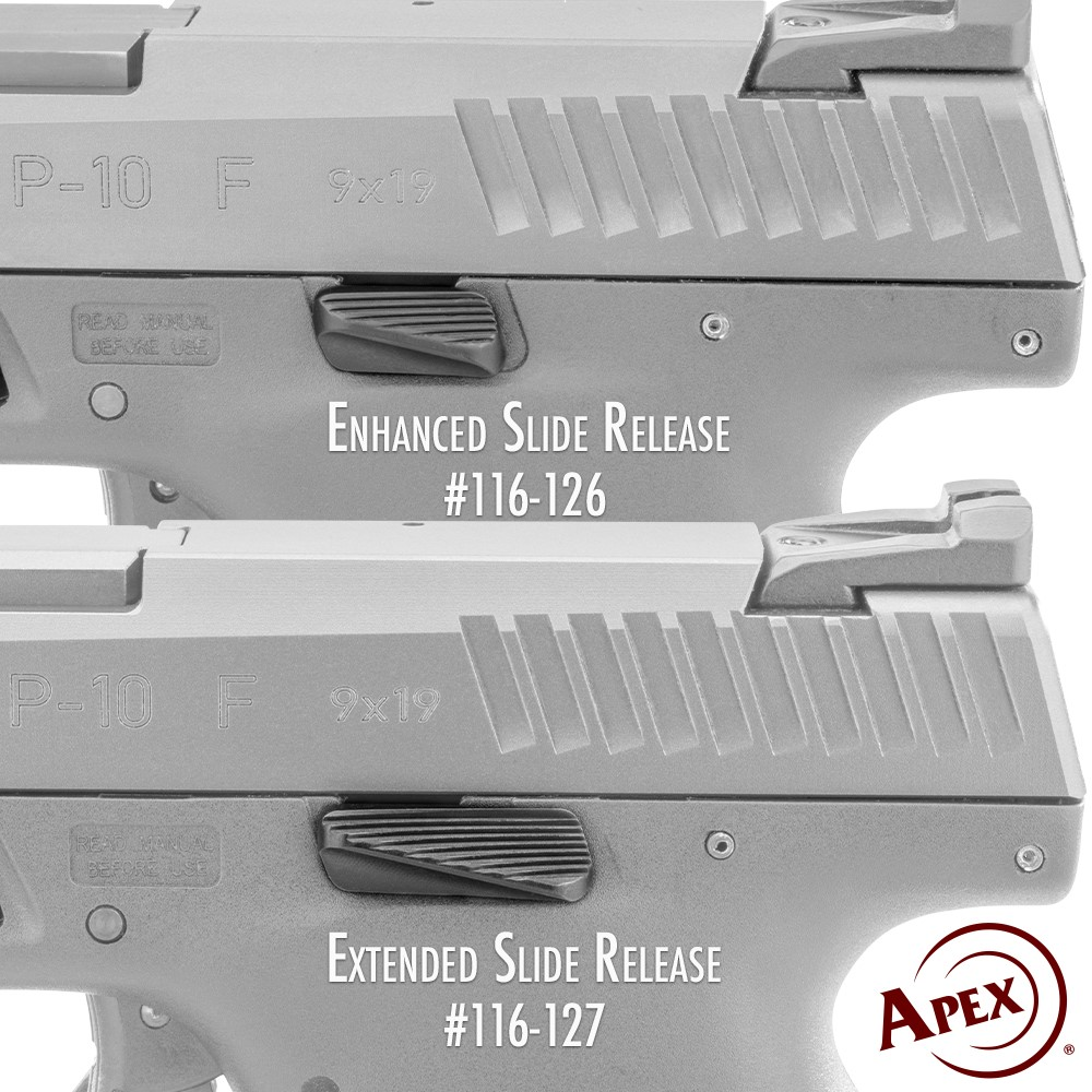 Apex Enhanced Slide Release for CZ P-10