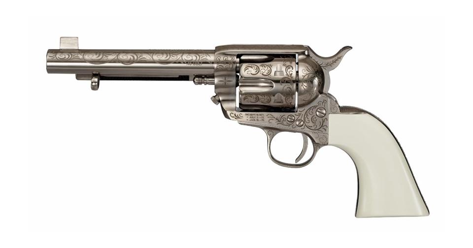 Cimarron Bat Masterson 45 Colt Single-Action Pistol