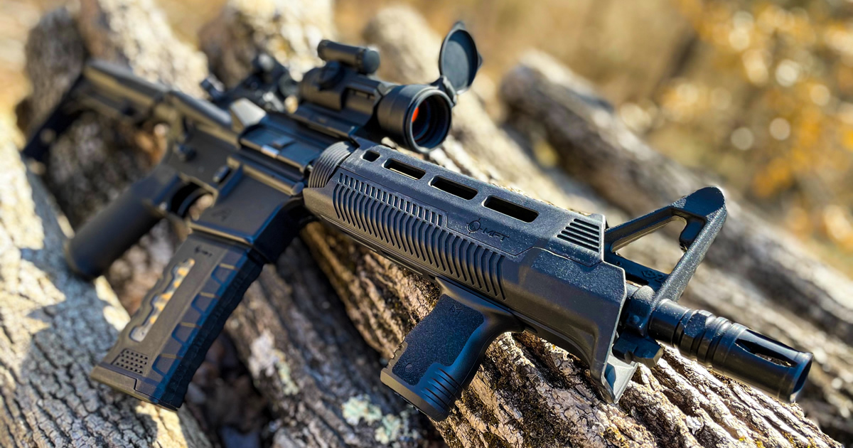 Mission First Tactical React M-LOK Compact Foregrip