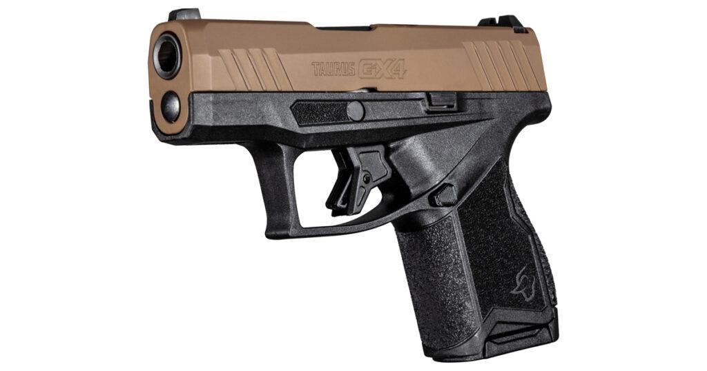 Taurus GX4 - Troy Coyote Tan Cerakote 1-GX4M93E
