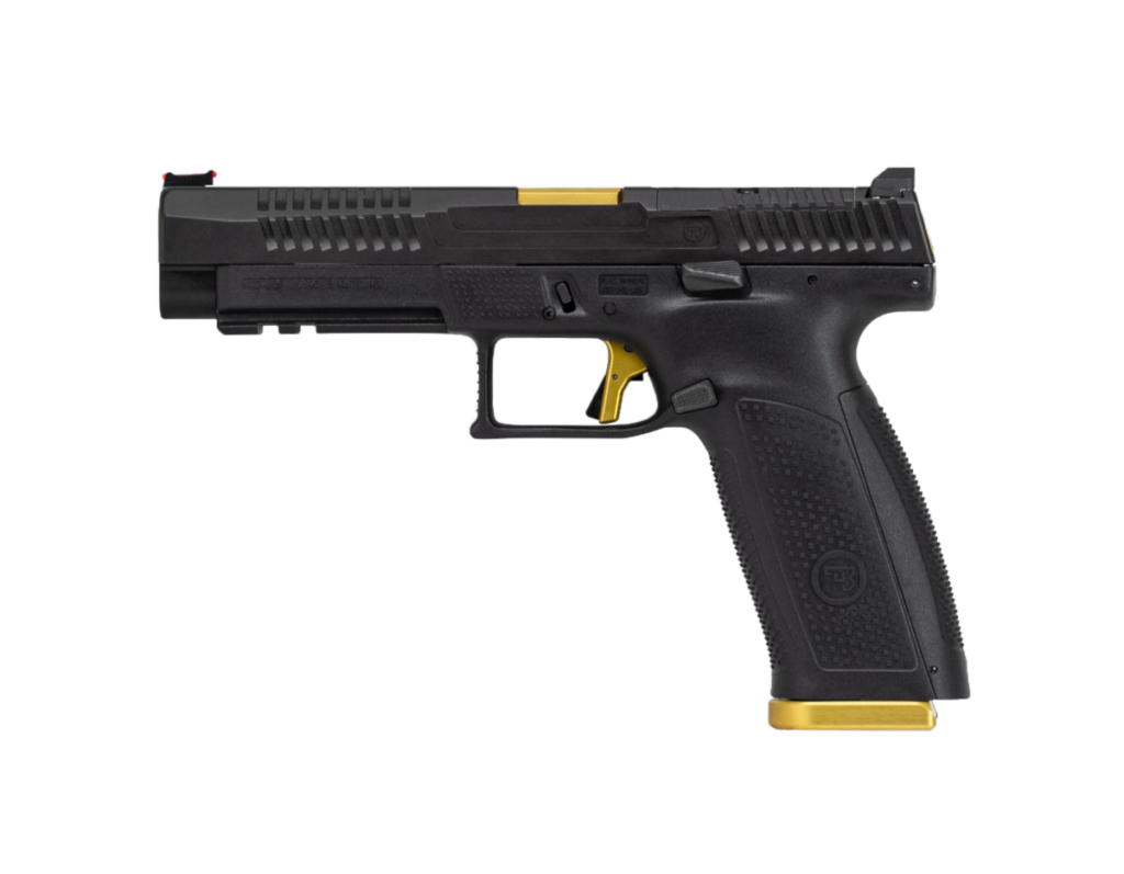 CZ P-10 F Competition-Ready Striker-Fired Pistol