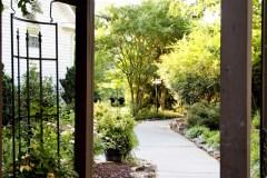 Sidewalk Path to Tasting Room