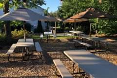 Upper Garden Picnic Tables