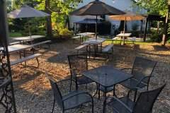 Upper Garden Picnic Tables  2