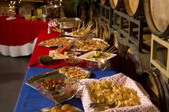 4th of July Birthday Party Buffet