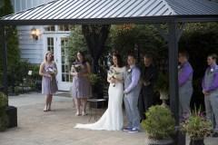 Gazebo Wedding Walk 1