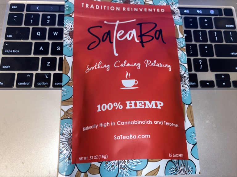 SaTeaBa Hemp Tea
