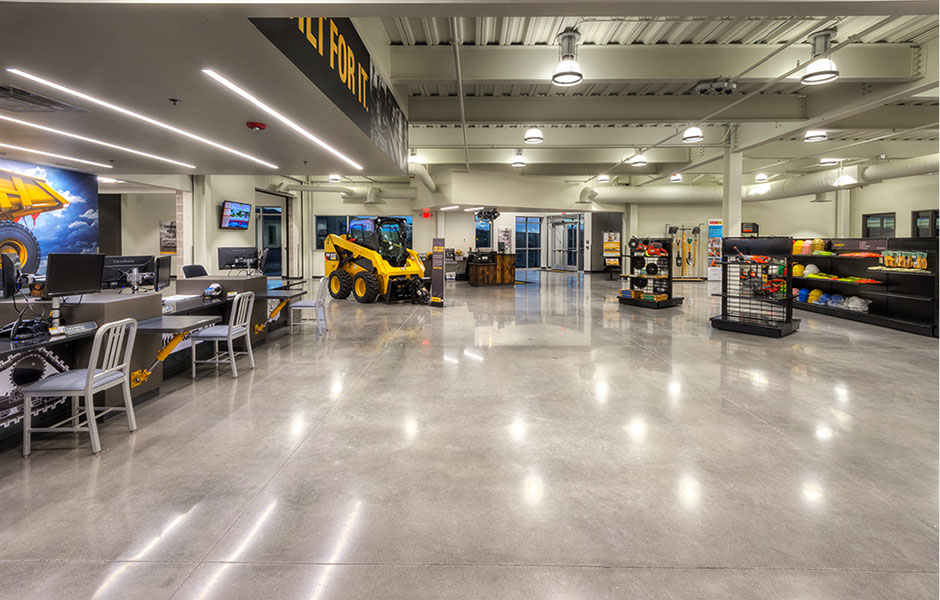 Polished Concrete-Custom Concrete Prep & Polish