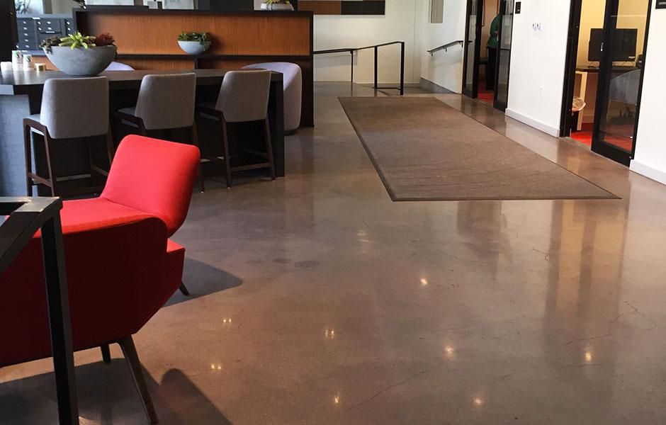 Decatur Point Custom Concrete Prep and Polish
