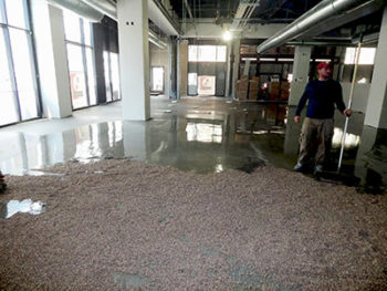 Floor Leveling Custom Concrete Prep and Polish