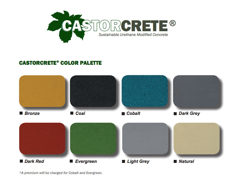 CASTORCRETE Urethane Modified Concrete