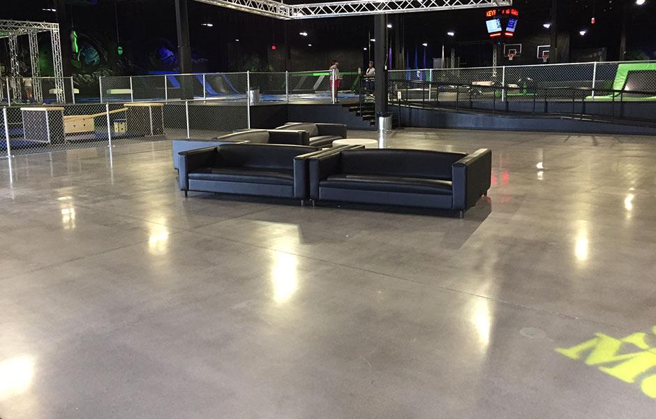 200 Grit Industrial Polish Entertainment Facility