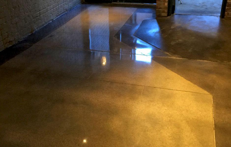 200 Grit Polish Custom Concrete Prep and Polish