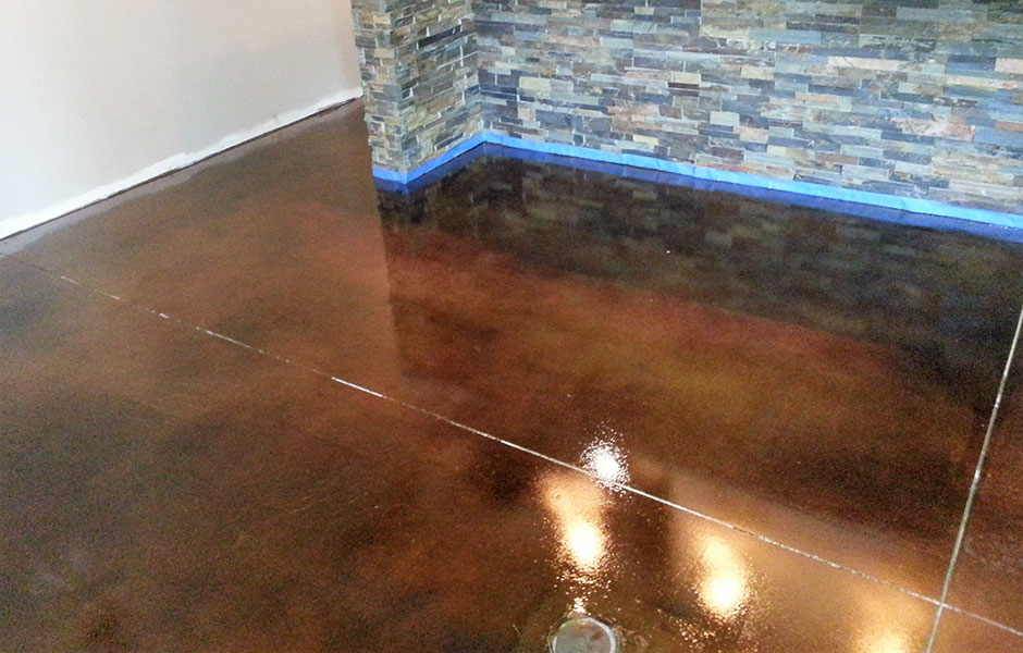 Grind, Seal and Stain Custom Concrete Prep and Polish