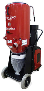Ermator T7500 Three-Phase Dust Extractors