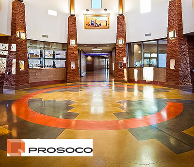 The Consolideck® flooring system by PROSOCO