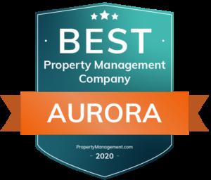 Best Property Management Company Aurora Award
