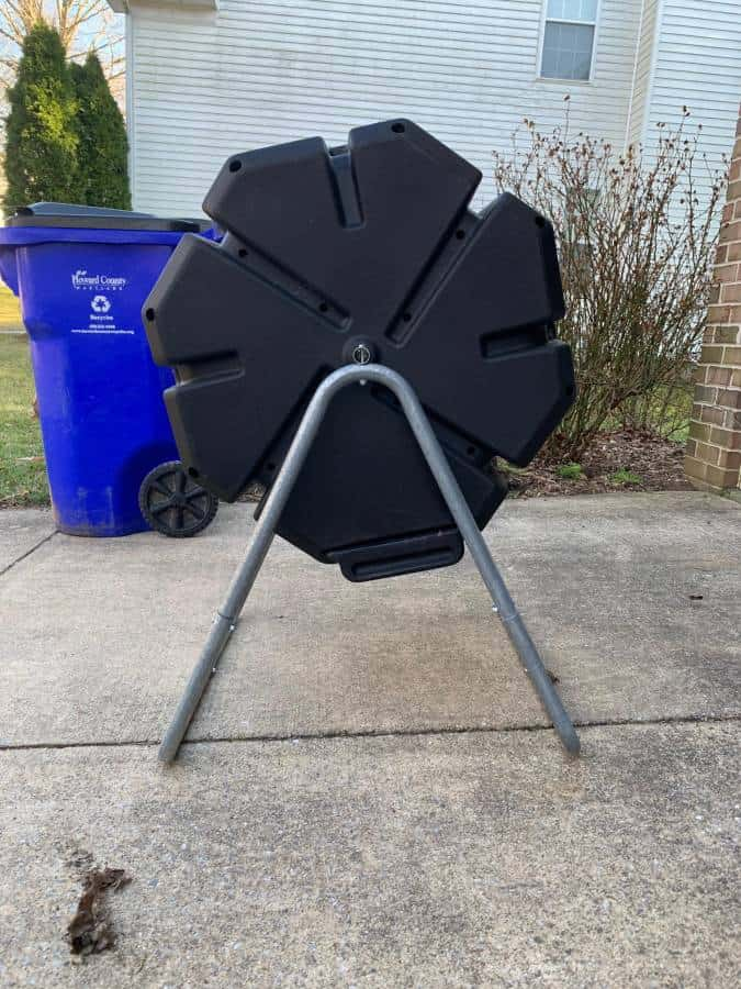 FCMP Outdoor IM4000 Tumbling Composter side view