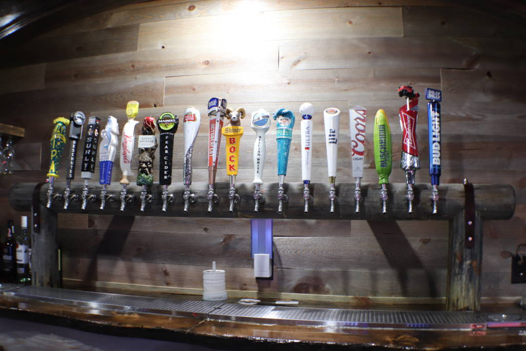 18 Beers on Tap