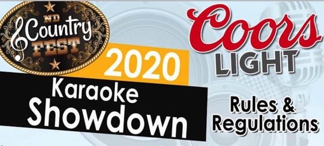 ND Country Fest Karaoke Showdown