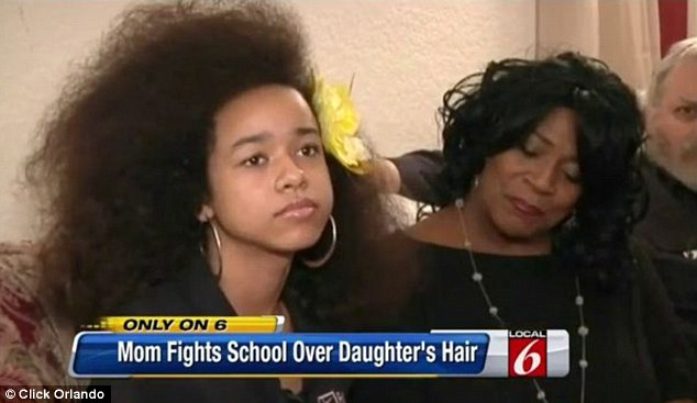 Vanessa VanDyke, a student at Orlando's Faith Christian Academy in Florida, had been suffering taunts over her hairstyle from fellow students.
