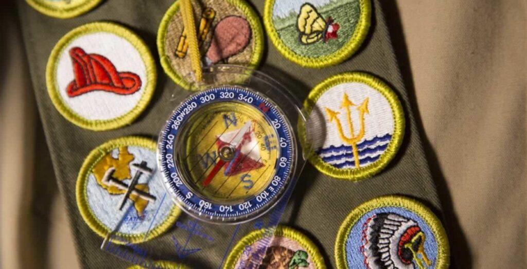 Boy Scouts Merit Badge Sash