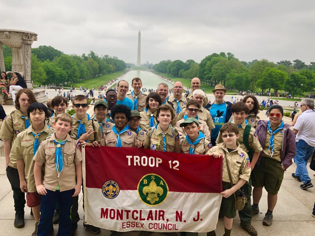 Troop 12 Spring trip to Washington DC 2020