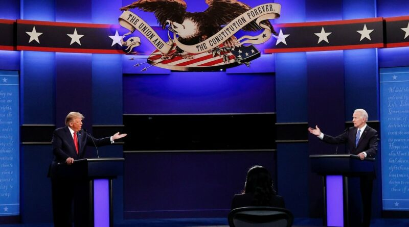 Donald Trump and Joe Biden debate Texas energy industry, global warming
