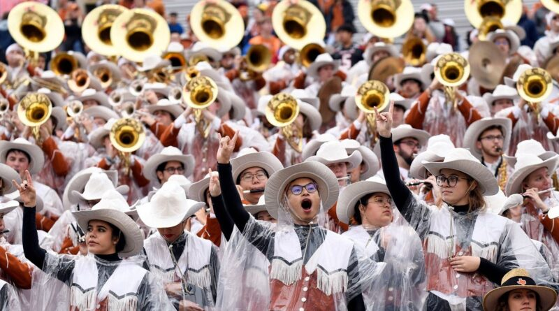 """Texas Longhorn band won't play """"The Eyes of Texas"""" at UT-Baylor game"""
