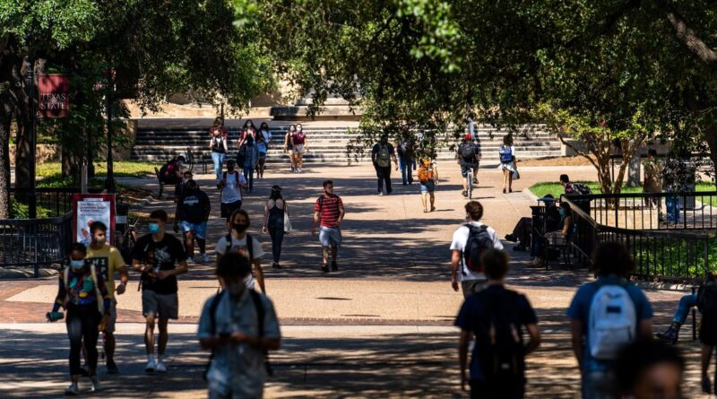 Texas higher education bills may take a backseat to COVID-19