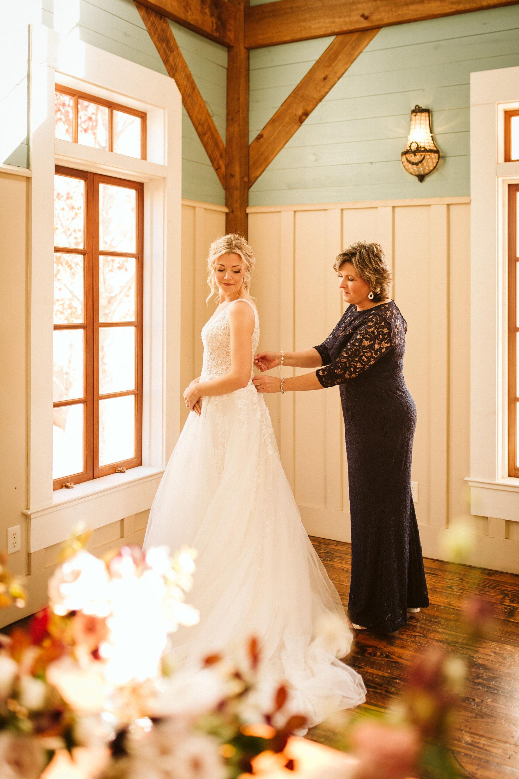 Bride in Peacock Hall