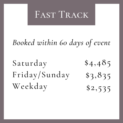 fast track pricing