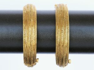 Fine Antique Gold Kadas